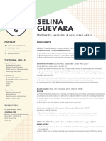 selina guevara resume june 2019