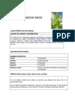 Ficha Técnica Sacha Inchi