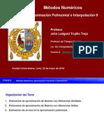 Aproximación Polinomial e Interpolación II-MN FISI-UNMSM 2019-I - Copia