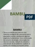 BAMBU Na Construção Civil
