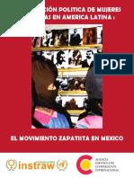 027 Participacion Politica Mujeres Indigenas Movimiento Zapatista Mexico