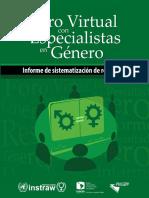 028 ForoVirtual Especialistas Genero