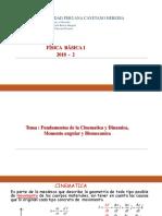 Semana 02 Cinematica Dinamica Biomecanica