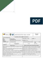 Planificacion Anual Investigacion 3ero B