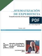 Sistematización Figueredo