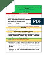 Plan de Clases Modelo-matemáticas