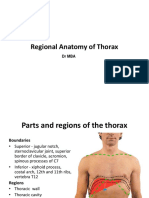 Thoracic Cavity Lecture-1