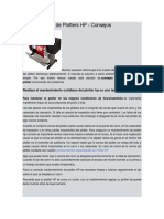 Manual de Mantenimiento de Plotters HP