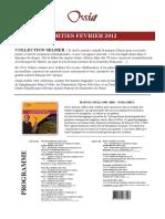Catalogue Ossia Fevrier 2012 Fr