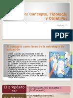 Capitulo III. Evaluación Concepto Tipología y Objetivos