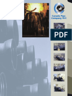 Canada Ductile Iron Pipe Brochure