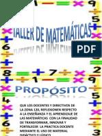Taller Material Matematico