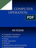 Computer Basic Operation
