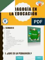 pedagogia presentacion