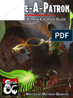 Create-A-Patron a Warlock Patron Creation Guide