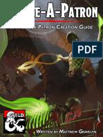 Create-A-Patron a Warlock Patron Creation Guide