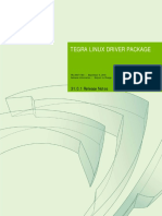 Tegra Linux Driver Package Release Notes R31.0.1
