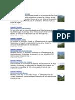 Montañas, Puertos y Mas de Guate