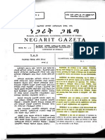 The Transitional Period Charter of Ethiopia