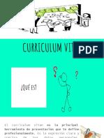 Currículum vitae ppt