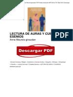 Lectura de Auras y Cuidados Esenios Anne Meurois Givaudan OTc4ODQ3NzIwODE1MC83NzQ1ODc