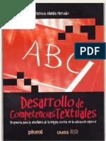 desarrolo de competencias textuales