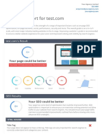 SEO Audit Sample PDF