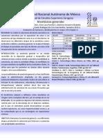 Cartel Anestesicos Generales