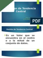 1.5 Medidas de Tendencia Central (1)