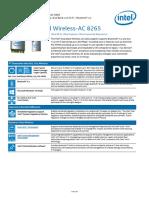 Wifi, Bluetooth Dual Band Wireless Ac 8265 Brief Unlocked