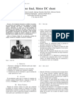 Informe Motores Dc