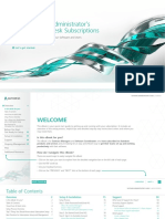 Software Administrators Guide to Autodesk Subscription