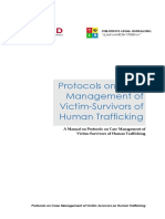 Manual of Protocols on TIP Case Management -Final