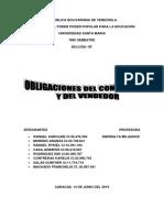 Trabajo de Obligaciones Tema 2 y 3
