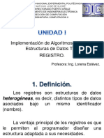 Unidad 1 Registros 2013-II