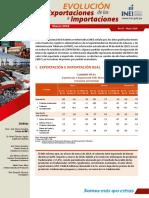 Evolucion de Las Exportaciones e Importaciones Mayo2019