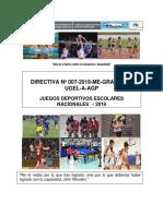 Directiva Jden 2019-Ugel And