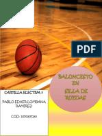 Cartilla baloncesto