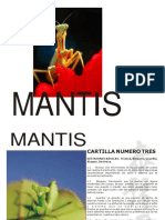 cartilla mantis 2014