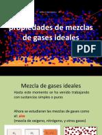 Propiedades de Mezclas de Gases Ideales