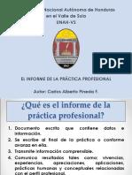Como Elaborar Un Informe de Practica Profesional