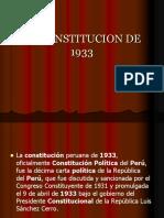 La Constitucion de 1933 (2)