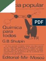 Ciencia Popular - Quimica Para Todos - Shulpin