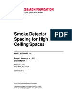 Rf Spacing High Ceilings
