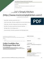 Coklat Cornflakes Dan Perhitungan Harga Jual _ Monic's Simply Kitchen