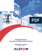 Transformer Differential Protection. Application Guide - Autores Varios - Editorial Alstom - 2003