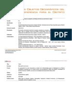 Catalogo de Referencia Mapa Base Bogotá