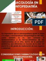 Farmacología en Odontopedriatría