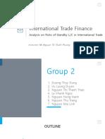 Standby Lc Nternational Trade Finance