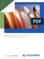 Effect Pigments for Plastics-ECKART